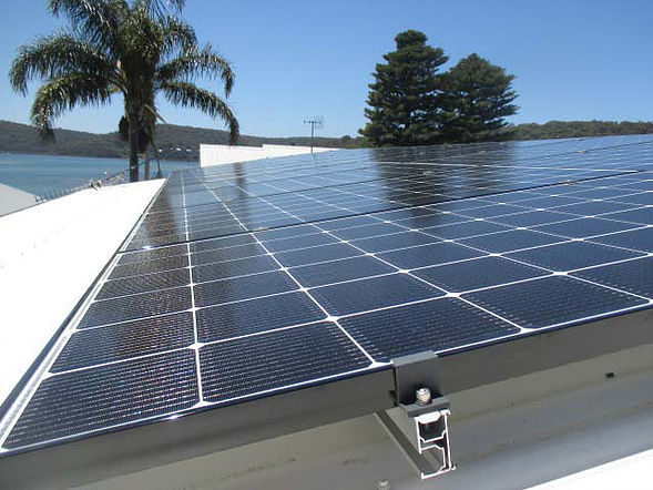 Solar Power Installation Central Coast