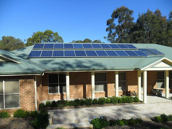 Solar Power Installation Central Coast