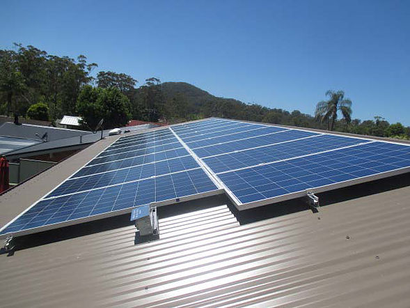 Solar Power Installation Unter Valley