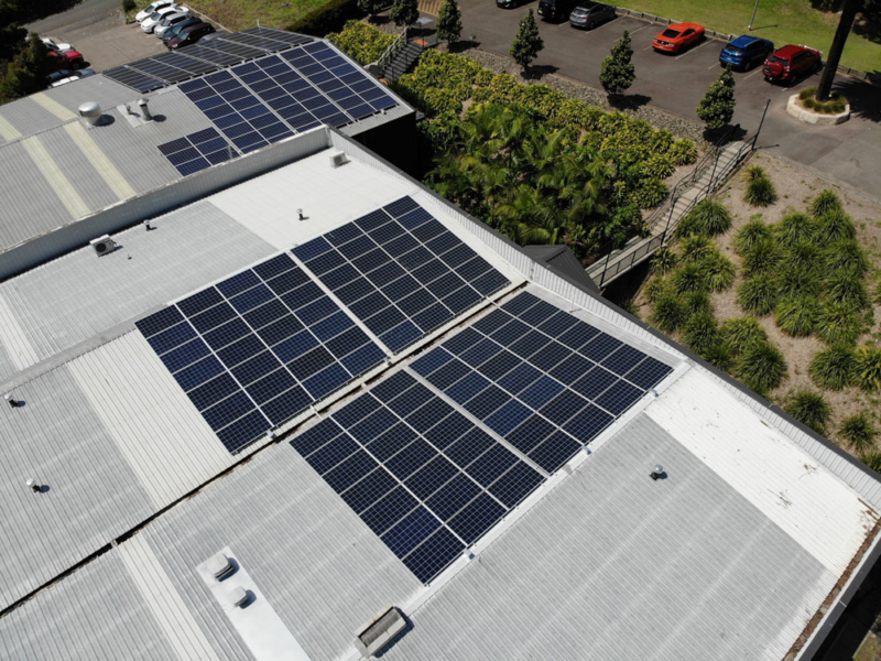 30KW system installed for Guru labels in Lisarow