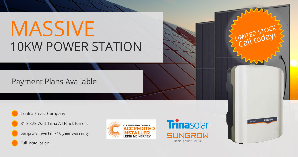 Massive 10KW Power Station - Limited Stock - Call Now!